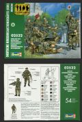 Revell 1.72 scale (20mm) 02522 Modern German Crisis Reaction Force (x 54 figs)